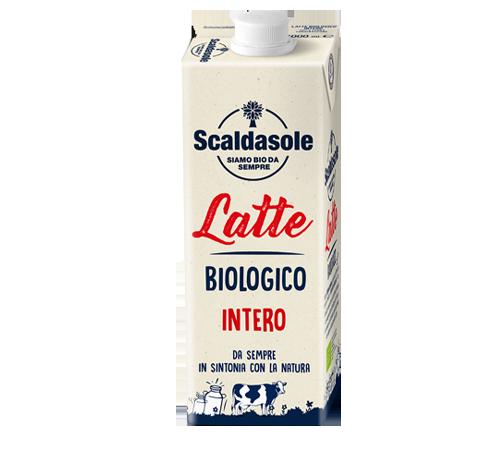 Latte intero biologico